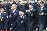 Remembrance Sunday at the Cenotaph 2015: Group F17, Fellowship of the Services. Cenotaph, Whitehall, London SW1, London, Greater London, United Kingdom, on 08 November 2015 at 12:06, image #1095