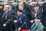 Remembrance Sunday at the Cenotaph 2015: Group F18, Memorable Order of Tin Hats. Cenotaph, Whitehall, London SW1, London, Greater London, United Kingdom, on 08 November 2015 at 12:06, image #1097