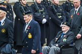 Remembrance Sunday at the Cenotaph 2015: Group F18, Memorable Order of Tin Hats. Cenotaph, Whitehall, London SW1, London, Greater London, United Kingdom, on 08 November 2015 at 12:06, image #1099