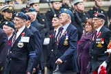 Remembrance Sunday at the Cenotaph 2015: Group F19, Suez Veterans Association. Cenotaph, Whitehall, London SW1, London, Greater London, United Kingdom, on 08 November 2015 at 12:06, image #1101