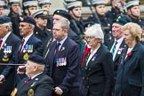 Remembrance Sunday at the Cenotaph 2015: Group F20, Aden Veterans Association. Cenotaph, Whitehall, London SW1, London, Greater London, United Kingdom, on 08 November 2015 at 12:06, image #1105