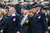 Remembrance Sunday at the Cenotaph 2015: Group F20, Aden Veterans Association. Cenotaph, Whitehall, London SW1, London, Greater London, United Kingdom, on 08 November 2015 at 12:06, image #1107