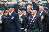 Remembrance Sunday at the Cenotaph 2015: Group F20, Aden Veterans Association. Cenotaph, Whitehall, London SW1, London, Greater London, United Kingdom, on 08 November 2015 at 12:06, image #1108