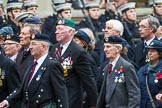 Remembrance Sunday at the Cenotaph 2015: Group F20, Aden Veterans Association. Cenotaph, Whitehall, London SW1, London, Greater London, United Kingdom, on 08 November 2015 at 12:06, image #1109