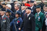 Remembrance Sunday at the Cenotaph 2015: Group F20, Aden Veterans Association. Cenotaph, Whitehall, London SW1, London, Greater London, United Kingdom, on 08 November 2015 at 12:06, image #1110