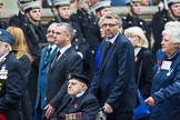 Remembrance Sunday at the Cenotaph 2015: Group F21, 1st Army Association. Cenotaph, Whitehall, London SW1, London, Greater London, United Kingdom, on 08 November 2015 at 12:06, image #1114