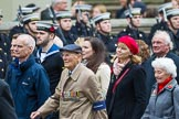 Remembrance Sunday at the Cenotaph 2015: Group F22, Showmens' Guild of Great Britain. Cenotaph, Whitehall, London SW1, London, Greater London, United Kingdom, on 08 November 2015 at 12:06, image #1117