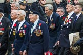 Remembrance Sunday at the Cenotaph 2015: Group F23, Special Forces Club. Cenotaph, Whitehall, London SW1, London, Greater London, United Kingdom, on 08 November 2015 at 12:07, image #1126