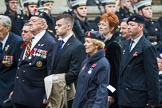 Remembrance Sunday at the Cenotaph 2015: Group F24, The Spirit of Normandy Trust. Cenotaph, Whitehall, London SW1, London, Greater London, United Kingdom, on 08 November 2015 at 12:07, image #1127