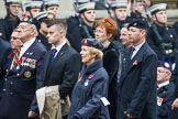 Remembrance Sunday at the Cenotaph 2015: Group F24, The Spirit of Normandy Trust. Cenotaph, Whitehall, London SW1, London, Greater London, United Kingdom, on 08 November 2015 at 12:07, image #1128