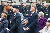 Remembrance Sunday at the Cenotaph 2015: Group F24, The Spirit of Normandy Trust. Cenotaph, Whitehall, London SW1, London, Greater London, United Kingdom, on 08 November 2015 at 12:07, image #1129