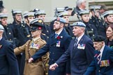 Remembrance Sunday at the Cenotaph 2015: Group F25, Italy Star Association 1943-1945. Cenotaph, Whitehall, London SW1, London, Greater London, United Kingdom, on 08 November 2015 at 12:07, image #1134