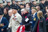 Remembrance Sunday at the Cenotaph 2015: Group F25, Italy Star Association 1943-1945. Cenotaph, Whitehall, London SW1, London, Greater London, United Kingdom, on 08 November 2015 at 12:07, image #1136
