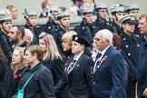 Remembrance Sunday at the Cenotaph 2015: Group F25, Italy Star Association 1943-1945. Cenotaph, Whitehall, London SW1, London, Greater London, United Kingdom, on 08 November 2015 at 12:07, image #1138