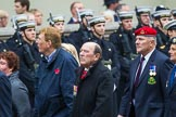 Remembrance Sunday at the Cenotaph 2015: Group F25, Italy Star Association 1943-1945. Cenotaph, Whitehall, London SW1, London, Greater London, United Kingdom, on 08 November 2015 at 12:07, image #1140
