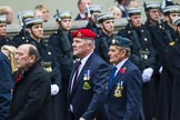 Remembrance Sunday at the Cenotaph 2015: Group F25, Italy Star Association 1943-1945. Cenotaph, Whitehall, London SW1, London, Greater London, United Kingdom, on 08 November 2015 at 12:07, image #1141