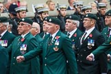 Remembrance Sunday at the Cenotaph 2015: Group A1, 1LI Association. Cenotaph, Whitehall, London SW1, London, Greater London, United Kingdom, on 08 November 2015 at 12:07, image #1150