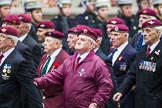 Remembrance Sunday at the Cenotaph 2015: Group A3, Parachute Regimental Association. Cenotaph, Whitehall, London SW1, London, Greater London, United Kingdom, on 08 November 2015 at 12:08, image #1192