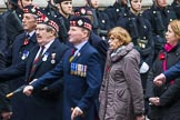 Remembrance Sunday at the Cenotaph 2015: Group A4, King's Own Scottish Borderers. Cenotaph, Whitehall, London SW1, London, Greater London, United Kingdom, on 08 November 2015 at 12:09, image #1200
