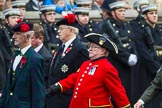 Remembrance Sunday at the Cenotaph 2015: Group A5, Black Watch Association. Cenotaph, Whitehall, London SW1, London, Greater London, United Kingdom, on 08 November 2015 at 12:09, image #1217