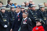 Remembrance Sunday at the Cenotaph 2015: Group A6, Gordon Highlanders Association. Cenotaph, Whitehall, London SW1, London, Greater London, United Kingdom, on 08 November 2015 at 12:10, image #1219