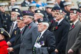 Remembrance Sunday at the Cenotaph 2015: Group A6, Gordon Highlanders Association. Cenotaph, Whitehall, London SW1, London, Greater London, United Kingdom, on 08 November 2015 at 12:10, image #1222