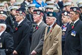 Remembrance Sunday at the Cenotaph 2015: Group A6, Gordon Highlanders Association. Cenotaph, Whitehall, London SW1, London, Greater London, United Kingdom, on 08 November 2015 at 12:10, image #1223