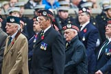 Remembrance Sunday at the Cenotaph 2015: Group A6, Gordon Highlanders Association. Cenotaph, Whitehall, London SW1, London, Greater London, United Kingdom, on 08 November 2015 at 12:10, image #1224