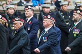 Remembrance Sunday at the Cenotaph 2015: Group A7, Argyll & Sutherland Highlanders Regimental Association. Cenotaph, Whitehall, London SW1, London, Greater London, United Kingdom, on 08 November 2015 at 12:10, image #1225