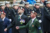 Remembrance Sunday at the Cenotaph 2015: Group A7, Argyll & Sutherland Highlanders Regimental Association. Cenotaph, Whitehall, London SW1, London, Greater London, United Kingdom, on 08 November 2015 at 12:10, image #1226