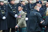 Remembrance Sunday at the Cenotaph 2015: Group A8, Queen's Own Highlanders Regimental Association. Cenotaph, Whitehall, London SW1, London, Greater London, United Kingdom, on 08 November 2015 at 12:10, image #1227