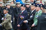 Remembrance Sunday at the Cenotaph 2015: Group A8, Queen's Own Highlanders Regimental Association. Cenotaph, Whitehall, London SW1, London, Greater London, United Kingdom, on 08 November 2015 at 12:10, image #1228