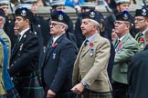 Remembrance Sunday at the Cenotaph 2015: Group A8, Queen's Own Highlanders Regimental Association. Cenotaph, Whitehall, London SW1, London, Greater London, United Kingdom, on 08 November 2015 at 12:10, image #1232