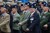 Remembrance Sunday at the Cenotaph 2015: Group A8, Queen's Own Highlanders Regimental Association. Cenotaph, Whitehall, London SW1, London, Greater London, United Kingdom, on 08 November 2015 at 12:10, image #1233