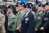 Remembrance Sunday at the Cenotaph 2015: Group A8, Queen's Own Highlanders Regimental Association. Cenotaph, Whitehall, London SW1, London, Greater London, United Kingdom, on 08 November 2015 at 12:10, image #1234