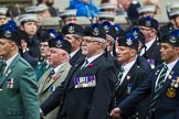 Remembrance Sunday at the Cenotaph 2015: Group A8, Queen's Own Highlanders Regimental Association. Cenotaph, Whitehall, London SW1, London, Greater London, United Kingdom, on 08 November 2015 at 12:10, image #1238