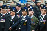 Remembrance Sunday at the Cenotaph 2015: Group A8, Queen's Own Highlanders Regimental Association. Cenotaph, Whitehall, London SW1, London, Greater London, United Kingdom, on 08 November 2015 at 12:10, image #1239