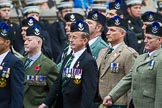 Remembrance Sunday at the Cenotaph 2015: Group A8, Queen's Own Highlanders Regimental Association. Cenotaph, Whitehall, London SW1, London, Greater London, United Kingdom, on 08 November 2015 at 12:10, image #1240
