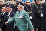 Remembrance Sunday at the Cenotaph 2015: Group A8, Queen's Own Highlanders Regimental Association. Cenotaph, Whitehall, London SW1, London, Greater London, United Kingdom, on 08 November 2015 at 12:10, image #1243