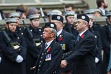 Remembrance Sunday at the Cenotaph 2015: Group A9, London Scottish Regimental Association. Cenotaph, Whitehall, London SW1, London, Greater London, United Kingdom, on 08 November 2015 at 12:10, image #1244