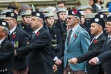 Remembrance Sunday at the Cenotaph 2015: Group A9, London Scottish Regimental Association. Cenotaph, Whitehall, London SW1, London, Greater London, United Kingdom, on 08 November 2015 at 12:10, image #1245