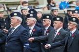 Remembrance Sunday at the Cenotaph 2015: Group A9, London Scottish Regimental Association. Cenotaph, Whitehall, London SW1, London, Greater London, United Kingdom, on 08 November 2015 at 12:10, image #1247