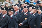 Remembrance Sunday at the Cenotaph 2015: Group A9, London Scottish Regimental Association. Cenotaph, Whitehall, London SW1, London, Greater London, United Kingdom, on 08 November 2015 at 12:10, image #1248