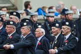 Remembrance Sunday at the Cenotaph 2015: Group A9, London Scottish Regimental Association. Cenotaph, Whitehall, London SW1, London, Greater London, United Kingdom, on 08 November 2015 at 12:10, image #1249