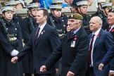 Remembrance Sunday at the Cenotaph 2015: Group A10, Grenadier Guards Association. Cenotaph, Whitehall, London SW1, London, Greater London, United Kingdom, on 08 November 2015 at 12:10, image #1251