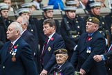 Remembrance Sunday at the Cenotaph 2015: Group A11, Coldstream Guards Association. Cenotaph, Whitehall, London SW1, London, Greater London, United Kingdom, on 08 November 2015 at 12:10, image #1256