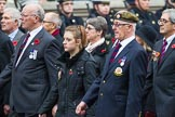 Remembrance Sunday at the Cenotaph 2015: Group A11, Coldstream Guards Association. Cenotaph, Whitehall, London SW1, London, Greater London, United Kingdom, on 08 November 2015 at 12:10, image #1259