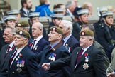 Remembrance Sunday at the Cenotaph 2015: Group A11, Coldstream Guards Association. Cenotaph, Whitehall, London SW1, London, Greater London, United Kingdom, on 08 November 2015 at 12:10, image #1261
