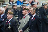 Remembrance Sunday at the Cenotaph 2015: Group A11, Coldstream Guards Association. Cenotaph, Whitehall, London SW1, London, Greater London, United Kingdom, on 08 November 2015 at 12:10, image #1262
