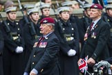Remembrance Sunday at the Cenotaph 2015: Group A13, Guards Parachute Association. Cenotaph, Whitehall, London SW1, London, Greater London, United Kingdom, on 08 November 2015 at 12:11, image #1271
